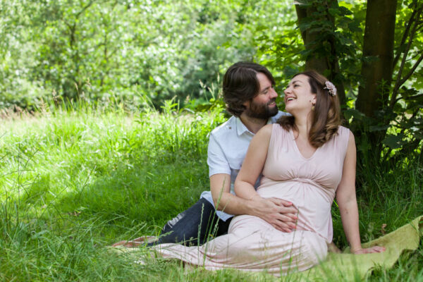 Maternity Photography at Healey Dell