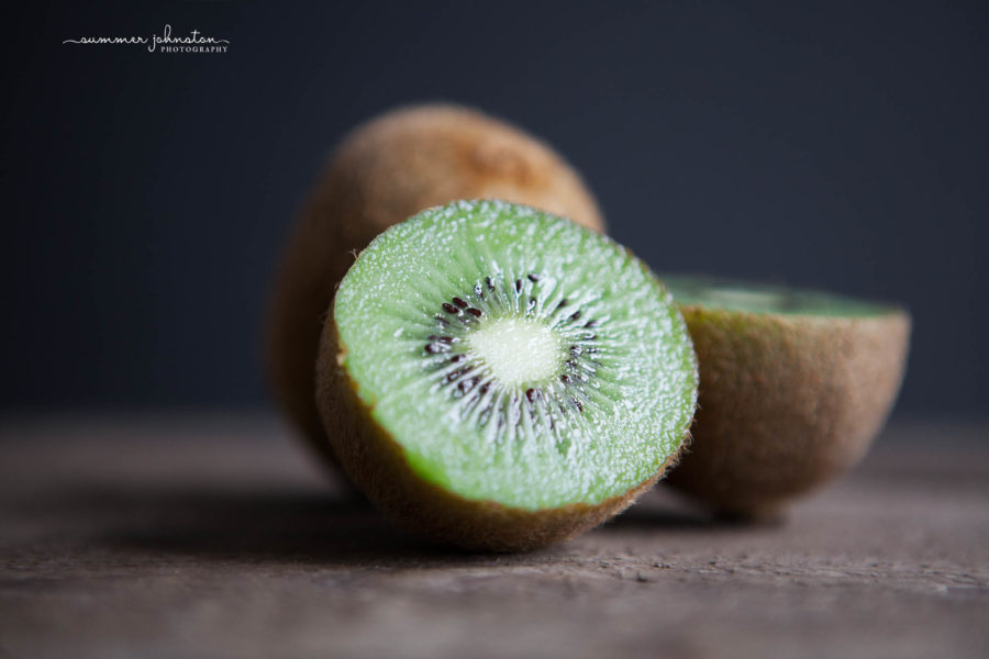 Kiwi shot in natural light