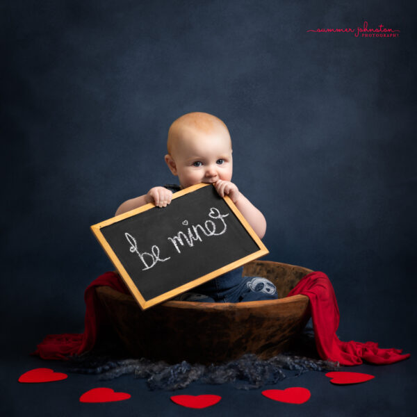 Baby Valentines Mini Shoots