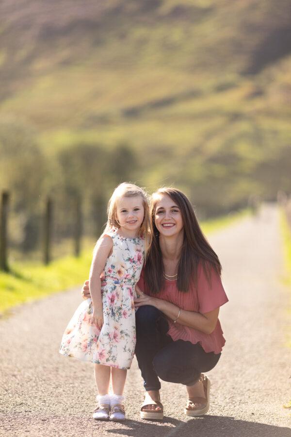 Family photo shoot Rawtenstall, Lancashire